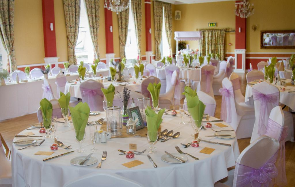 Photo of a Wedding Table at the Royal Assembly Rooms, Great Yarmouth