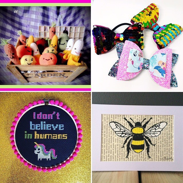Picture of handmade crafts