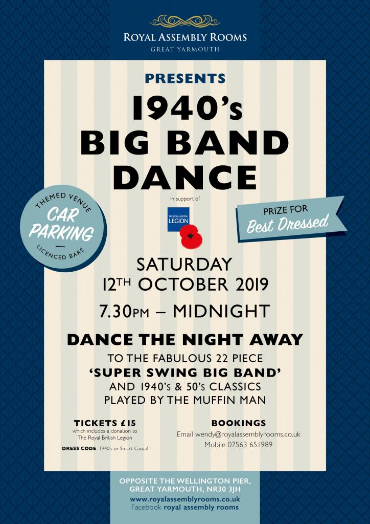 1940's Big Band Dance